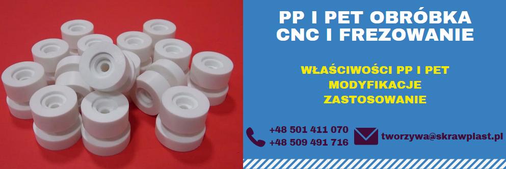 PP obróbka polipropylen, PET obróbka, CNC, frezowanie, obróbka skrawaniem PET i PP, wycinanie laserem