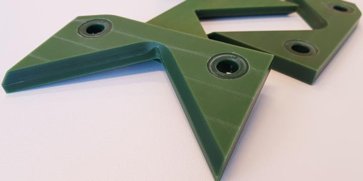 Ślizgi lasera do rur LT7 – zielony poliamid z olejem