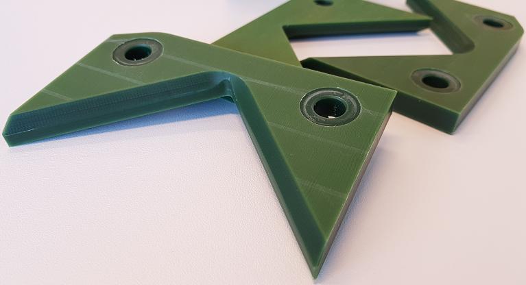 obróbka zielonego poliamidu